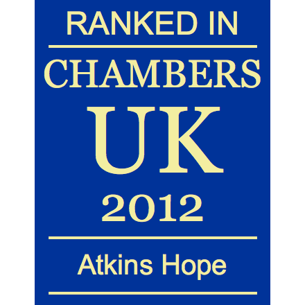 Ranked in Chambers UK 2012