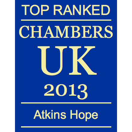 Ranked in Chambers UK 2013