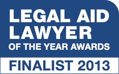 Legal Aid Lawyer Finalist 2013